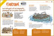 """""""Les réfugiés et les migrants : pourquoi on en parle autant ?"""" (supplément au n°844 d'Astrapi, 15 septembre 2015). Téléchargez le livret en cliquant sur ce lien"""