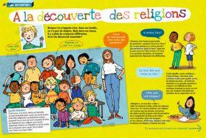 """Télécharger le dossier """"À la découverte des religions"""" sur le site de Bayard Jeunesse """"C'est bon de vivre ensemble"""""""