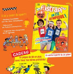 Sommaire du magazine Astrapi du 1er août 2016