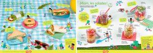 Téléchargez des recettes de sandwichs et de salades pour un pique-nique inoubliable !