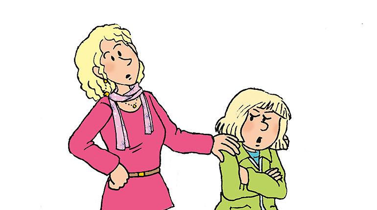 Elodie n'aime pas sa belle-mère