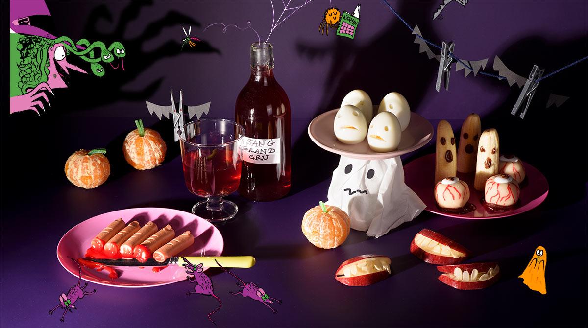Recette pour Halloween : le banquet monstrueux