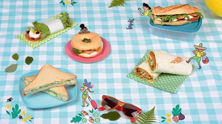 9 recettes de sandwichs et de salades pour un super pique-nique