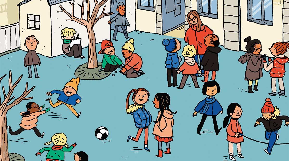Faut-il parler des religions dans les magazines pour vos enfants ? Illustration : Line Hachem
