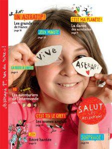 Sommaire du numéro d'Astrapi du 1er novembre