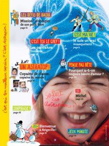 Sommaire du numéro d'Astrapi du 15 janvier 2014
