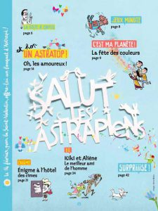Sommaire du numéro d'Astrapi du 1er février 2014