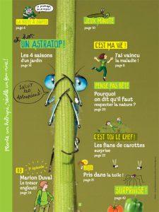 Sommaire du numéro d'Astrapi du 15 mars 2014