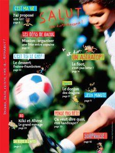 Sommaire du numéro d'Astrapi du 15 juin 2014