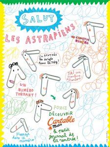 Sommaire du numéro d'Astrapi du 1er septembre 2014