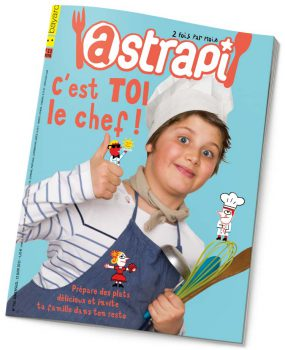 couverture Astrapi n°752, 15 juin 2011