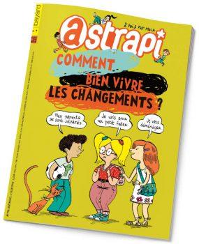 couverture Astrapi n°774, 15 juin 2012