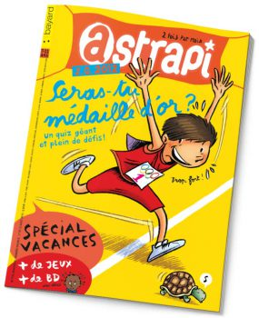 couverture Astrapi n°776, août 2012