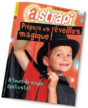 couverture Astrapi n°784, 15 décembre 2012