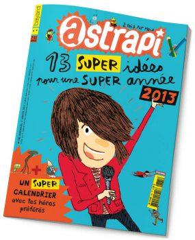 couverture Astrapi n°785, 1er janvier 2013