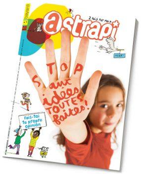 couverture Astrapi n°786, 15 janvier 2013