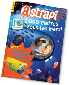 couverture Astrapi n°790, 15 mars 2013