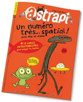 couverture Astrapi n°791, 1er avril 2013