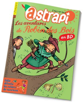 couverture Astrapi n°798, août 2013
