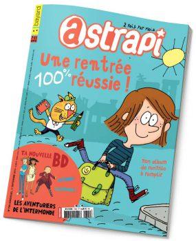 couverture Astrapi n°799, 1er septembre 2013