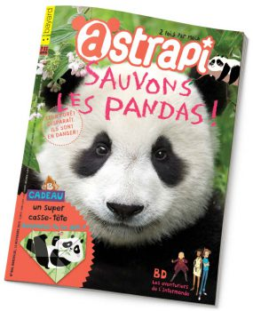 couverture Astrapi n°804, 1er novembre 2013