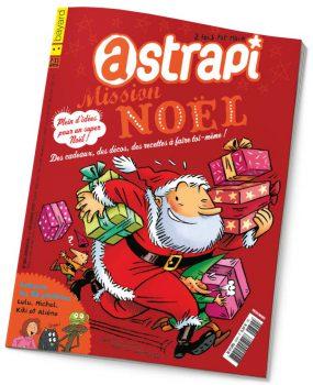 couverture Astrapi n°805, 1er décembre 2013