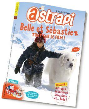 couverture Astrapi n°806, 15 décembre 2013
