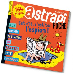 couverture Astrapi n°819, juillet 2014