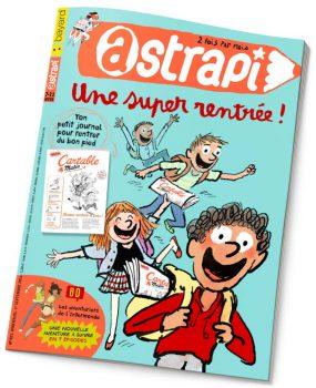 couverture Astrapi n°821, 1er septembre 2014