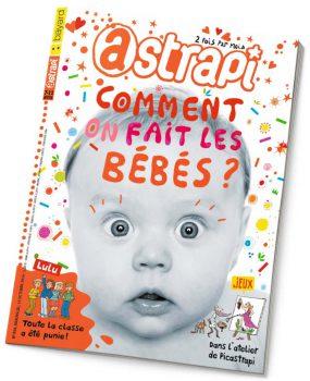 couverture Astrapi n°824, 15 octobre 2014