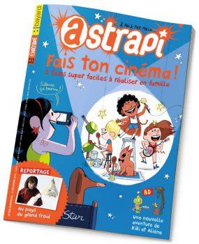 couverture Astrapi n°828, 15 décembre 2014