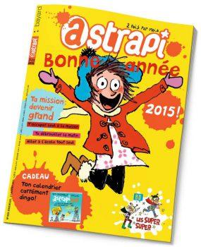 couverture Astrapi n°829, 1er janvier 2015