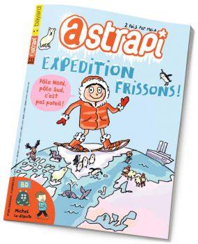 couverture Astrapi n°830, 15 janvier 2015