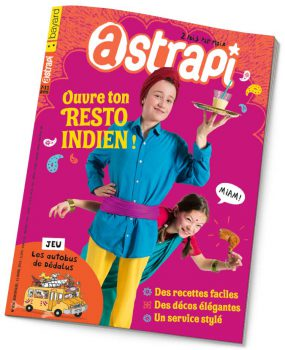 couverture Astrapi n°836, 15 avril 2015