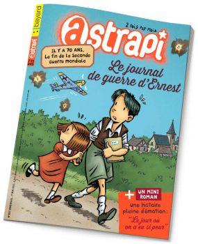 couverture Astrapi n°837, 1er mai 2015