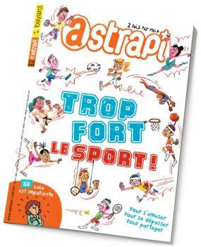 couverture Astrapi n°838, 15 mai 2015