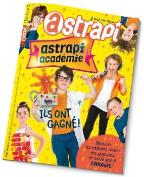 couverture Astrapi n°840, 15 juin 2015