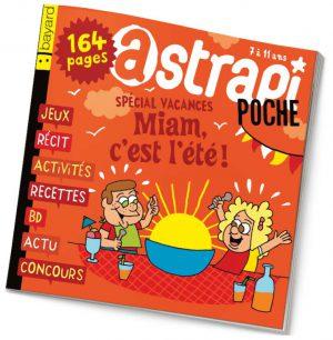 couverture Astrapi n°841, juillet 2015
