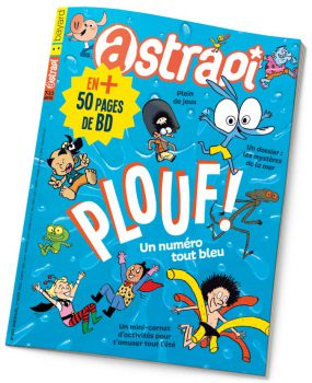 couverture Astrapi n°842, aout 2015
