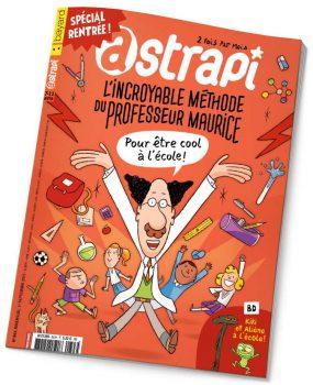 couverture Astrapi n°843, 1er septembre 2015