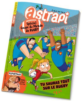 couverture Astrapi n°844, 15 septembre 2015