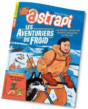 couverture Astrapi n°852, 15 janvier 2016