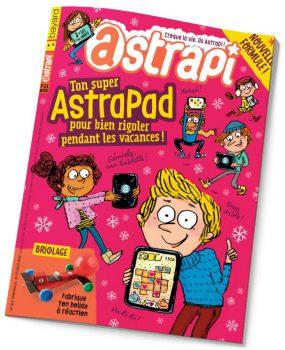 couverture Astrapi n°854, 15 février 2016
