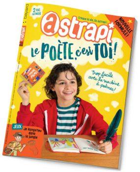 couverture Astrapi n°855, 1er mars 2016