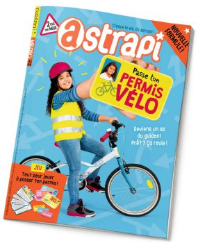 couverture Astrapi n°858, 15 avril 2016