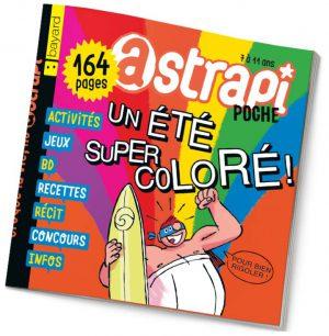 couverture Astrapi n°863, juillet 2016