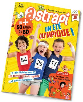 couverture Astrapi n°864, août 2016