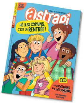 couverture Astrapi n°865, 1er septembre 2016