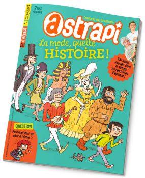 couverture Astrapi n°867, 1er octobre 2016
