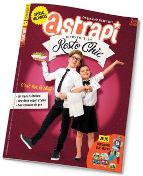 couverture Astrapi n°868, 15 octobre 2016